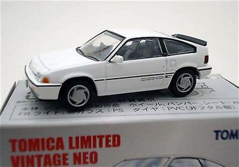 Tomica Tlv Honda Civic Estilo Sir White tomica limited vintage neo tlv n35 honda cr x si 1985