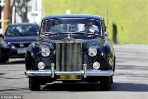 1940s rolls royce ewan mcgregor runs errands in los angeles in his posh