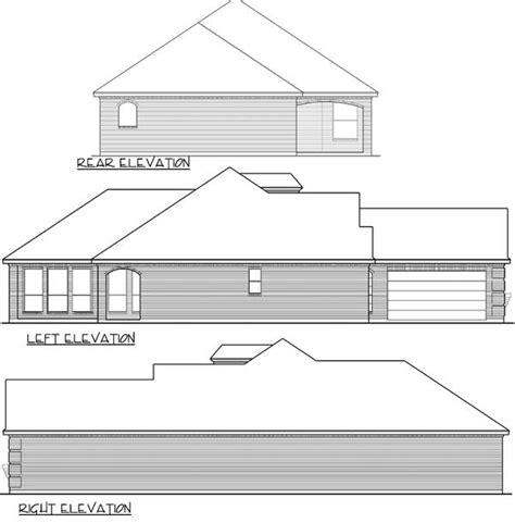 zero lot house plans zero lot line narrow house plan 36411tx 1st floor