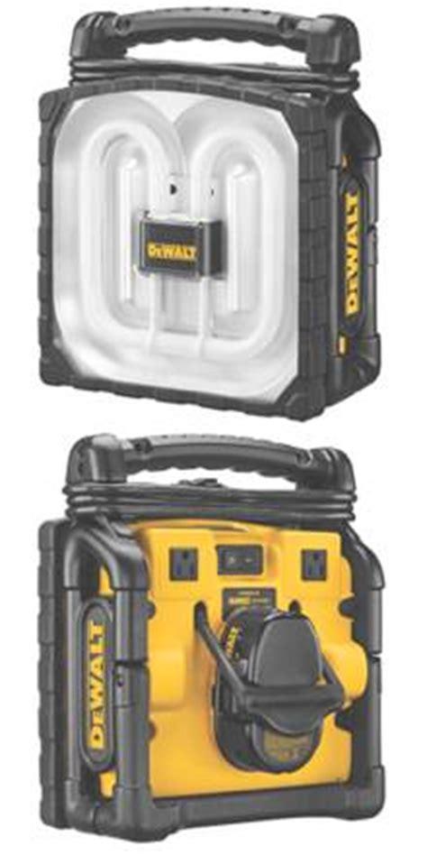 battery powered fluorescent work light dewalt dc020 cordless corded worklight portable work