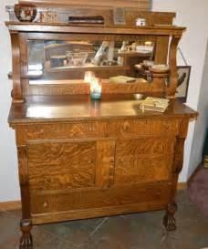 landon desk with hutch oak vintage oak hutch highboy cabinet sideboard buffet w