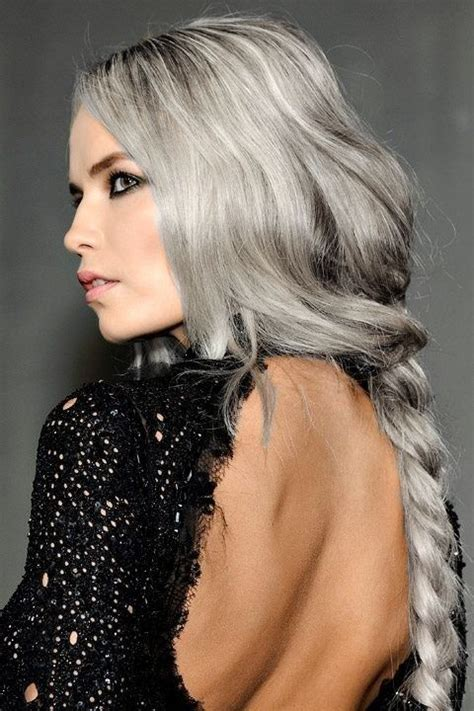 see models with sheik gray colo hair styles 540 best images about silver white platinum hair on