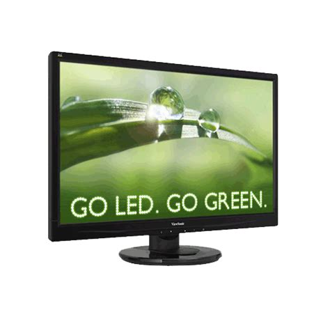 Viewsonic Monitor Va2046a 195 Wide viewsonic va2046a led 20in wide 16 9 led monitor 5ms 1600x900 res vga interface vesa mount tilt