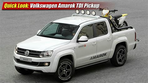 volkswagen pickup 2016 2016 volkswagen amarok pictures information and specs