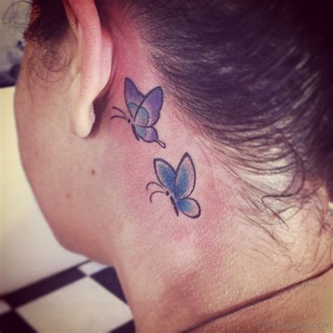 butterfly tattoo throat 97 decent butterfly tattoos on neck