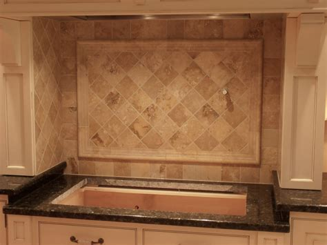 kitchen travertine backsplash travertine kitchen backsplash in lebanon kristins house ideas kitchen backsplash