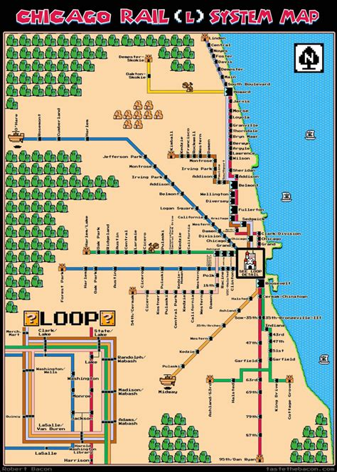 chicago map cta navigating the cta coffee spoons