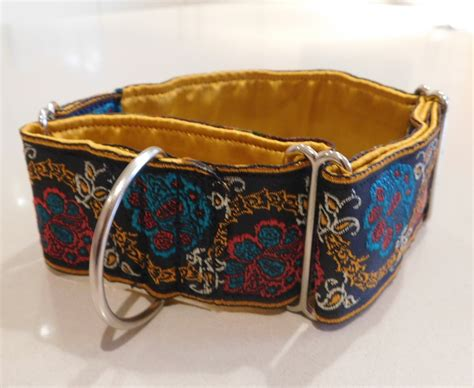 Handmade Martingale Collars - handmade martingale collars for greyhounds assorted designs