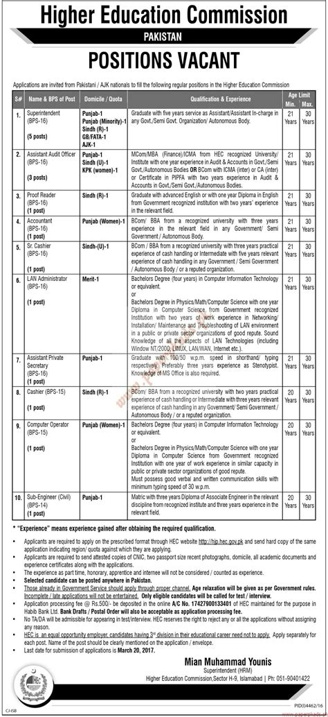 thesis higher education commission pakistan higher education commission pakistan jobs the news jobs