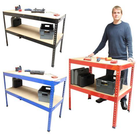 warehouse work benches warehouse work benches 2 shelf steel work bench for garage
