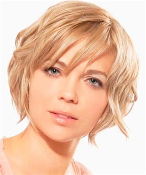 suitable hairstyle for oval face shape 15 inspirations of short hairstyles for thick hair and