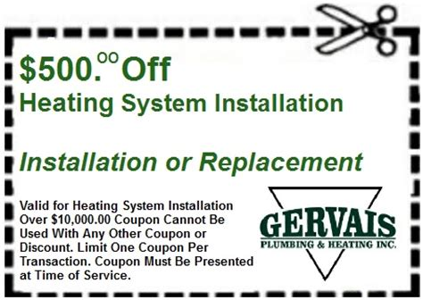 Heat And Plumb Coupon Code by Coupons For Plumbing Heating Air Conditioning