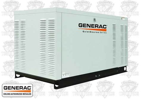 generac qt02724anax 27 000 watt quietsource standby