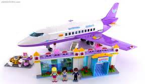 Lego friends heartlake city airport review set 41109