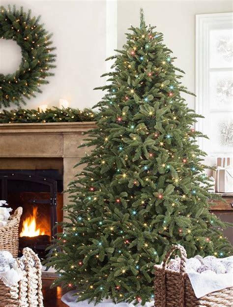 balsam hill alpine tree shasta fir artificial tree from balsam hill