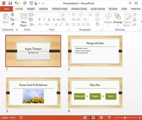 themes ppt 2013 super themes in powerpoint 2013 powerpoint tutorials