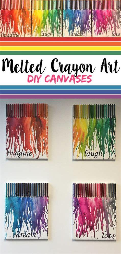 5 Letter Words Out Of Crayon de 25 bedste id 233 er inden for melted crayon canvas p 229