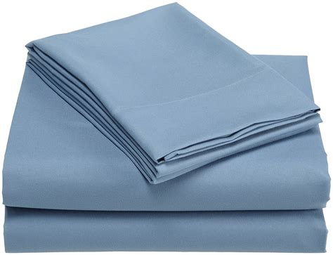 are polyester sheets comfortable divatex microfiber twin xl sheet sets blue new free