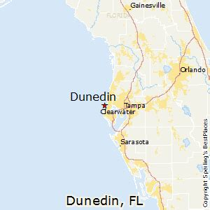 map of dunedin florida best places to live in dunedin florida