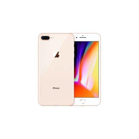 refurbished apple iphone 8 plus 256gb gold lte cellular at t mq8y2ll a walmart