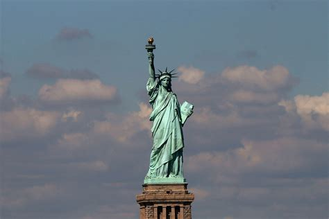 speed boat around statue of liberty 5 disappearing landmarks that may not stand the test of
