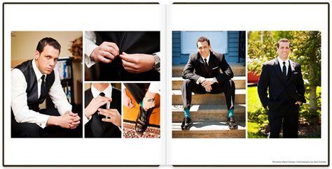 Wedding Album Design Work by Wedding Album Design A Black Tie Wedding Album