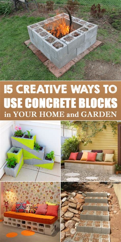 creative ways to use rope in your home s d 233 cor driven by 15 creative ways to use concrete blocks in your home and
