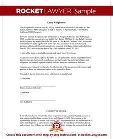 Assignment Of Lease Template by Assignment Of Lease Form Lease Agreement Assignment