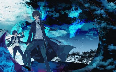 wallpaper hd blue anime blue exorcist wallpapers hd download
