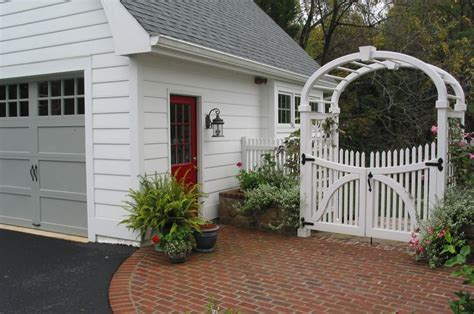 detached garage with breezeway detached garage and breezeway garage pinterest