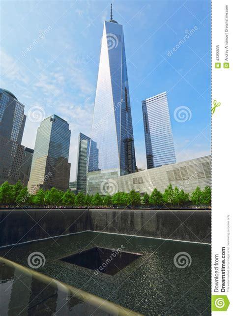and nay the memorials of ground zero new york city usa editorial stock photo image 43356838