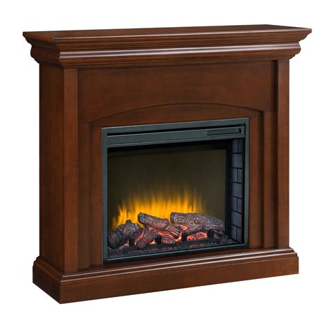 shop pleasant hearth 42 in w 4 600 btu cherry wood fan