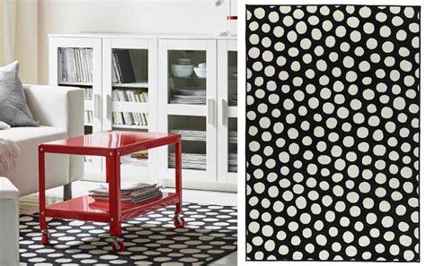 alfombra negra ikea ikea alfombras salon lunares mueblesueco
