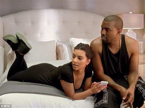 kanye west in bed in bed with kim kardashian and kanye west couple face off
