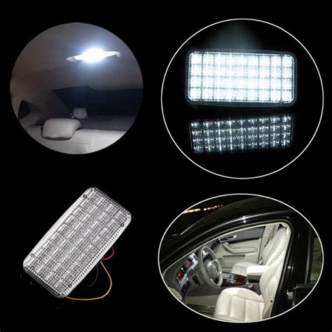 ceiling lights types cardealersnearyou com possbay 5 pieces white 36smd car truck indoor roof dome
