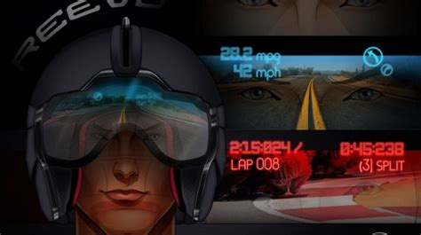 Reevu aims to be first to bring a motorcycle helmet HUD to