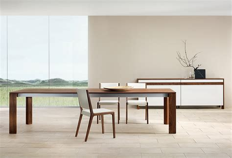 modern wood dining room tables modern dining table at the galleria