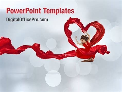 powerpoint templates free download dance dancing women powerpoint template backgrounds