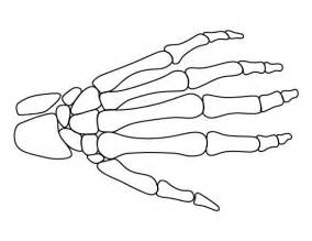 skeleton book report template skeleton hand pattern use the printable outline for skeleton book report book report pinterest