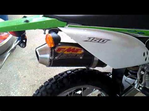 Knalpot Racing Fmf Fullsystem Kawasaki Klx 150klx 150bf Dtracker 150 klx 150 exhaust doovi