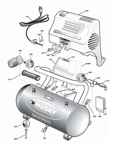 husky 2g110dp air compressor parts husky parts