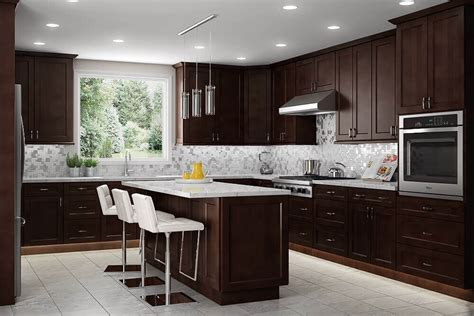 modern dark brown kitchen cabinets 89 contemporary kitchen design ideas gallery