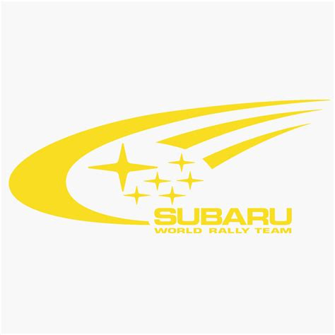 Subaru Rally Wrc Team Logo Graphic T Shirt