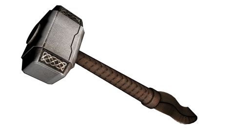 Hammer Of Thor Original Autentik No 1 mj 246 lnir hammer thor 3d obj