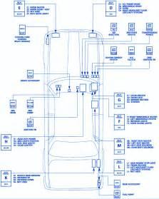 jaguar xj6 1996 front side fuse box block circuit breaker diagram 187 carfusebox