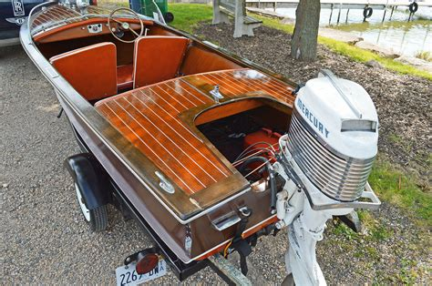 carver wooden boats carver boats special wood runabout 1953 for sale for