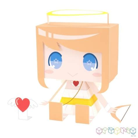 Paper Craft Canon - canon papercraft graphig cupid free papercraft