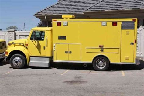 International Hair Emergency by International Dt466e 2000 Emergency Trucks