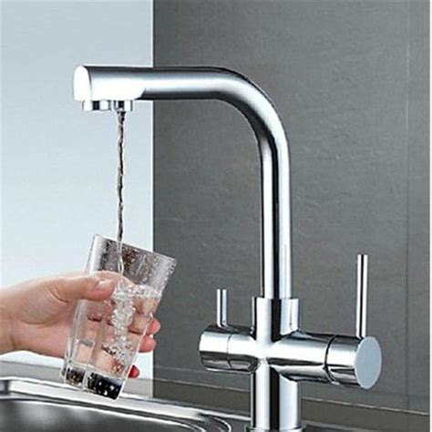 Cleaning Chrome Bathroom Fixtures Chrome Brass Kitchen Sink Bathroom Clean Wash Cold Basin Lever Faucet Mixer