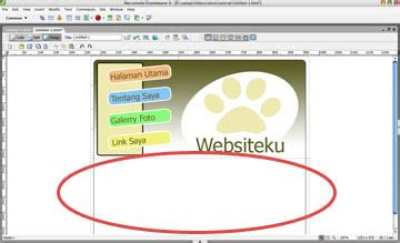 cara membuat website sendiri dengan dreamweaver cara membuat template sendiri dengan perpaduan photoshop